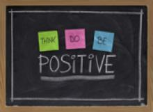 positive attitude at work, think positive, do positive, be positive