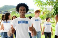 Volunteer work, student, Matriculants, Graduates